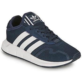 Zapatos Niño Zapatillas bajas adidas Originals SWIFT RUN X C Marino