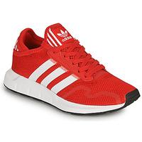 Zapatos Niños Zapatillas bajas adidas Originals SWIFT RUN X J Rojo