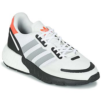 Zapatos Niños Zapatillas bajas adidas Originals ZX 1K BOOST J Blanco / Gris