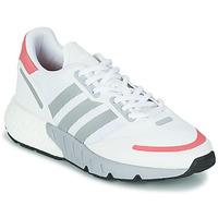 Zapatos Mujer Zapatillas bajas adidas Originals ZX 1K BOOST W Blanco / Rosa