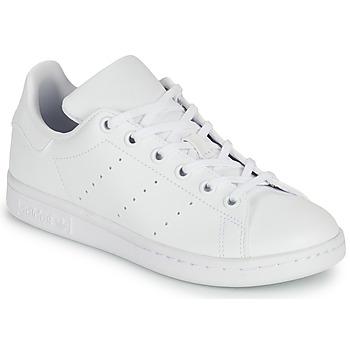 Zapatos Niños Zapatillas bajas adidas Originals STAN SMITH J SUSTAINABLE Blanco