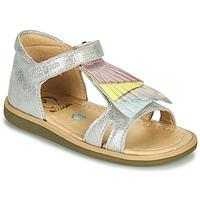 Zapatos Niña Sandalias Shoo Pom TITY FALLS Plata