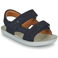 Zapatos Niño Sandalias Shoo Pom GOA BOY SCRATCH Azul