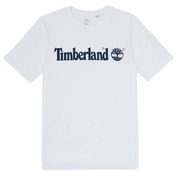 textil Niño Camisetas manga corta Timberland FONTANA Blanco