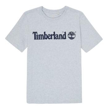 textil Niño Camisetas manga corta Timberland NINNO Gris