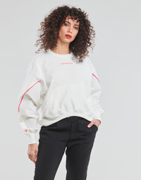 textil Mujer Sudaderas Converse BLOCKED ALTERRAIN CREW Blanco