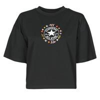textil Mujer Camisetas manga corta Converse CHUCK WOMENS WANDER TANK Negro