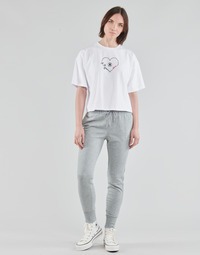 textil Mujer Pantalones de chándal Converse WOMENS EMBROIDERED STAR CHEVRON PANT FT Gris