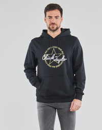 textil Hombre Sudaderas Converse DECONSTRUCTED CHUCK PATCH PULLOVER HOODIE Negro