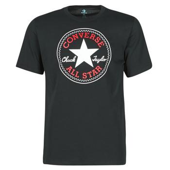 textil Hombre Camisetas manga corta Converse NOVA CHUCK PATCH TEE Negro