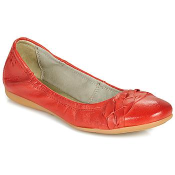 Zapatos Mujer Bailarinas-manoletinas Dream in Green CICALO Rojo