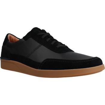 Zapatos Hombre Zapatillas bajas Clarks OAKLAND RUN Negro