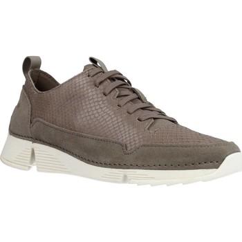 Zapatos Mujer Zapatillas bajas Clarks TRI SPARK Gris