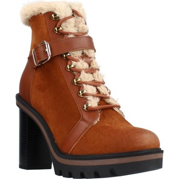 Zapatos Mujer Botines Tommy Hilfiger WARM LINED HIGH HE Marron