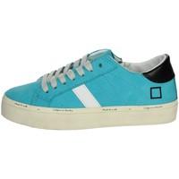 Zapatos Niña Zapatillas bajas Date J301 azul celeste