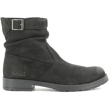Zapatos Niños Botas de caña baja Holalà HL120002L Negro
