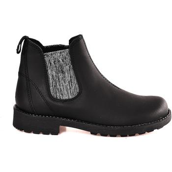 Zapatos Niños Botas de caña baja Grunland PO1384 Negro
