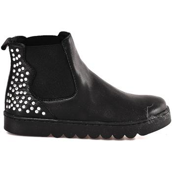 Zapatos Niños Botas de caña baja Holalà HL0001L0002J Negro