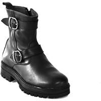 Zapatos Niños Botas de caña baja Asso 67961 Negro
