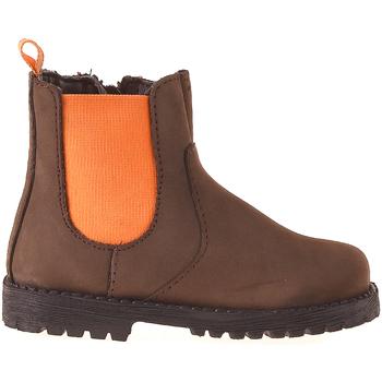 Zapatos Niños Botas de caña baja Grunland PP0375 Marrón