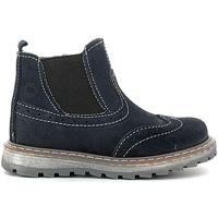 Zapatos Niños Botas de caña baja Melania ME1055B6I.B Azul