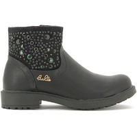Zapatos Niños Botas de caña baja Lulu LL110015S Negro