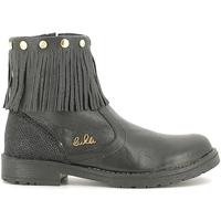 Zapatos Niños Botas de caña baja Lulu LL100020L Negro