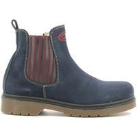 Zapatos Niños Botas de caña baja Alberto Guardiani GK22806G Azul