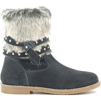 Zapatos Niños Botas de nieve Naurora NA-640 Azul