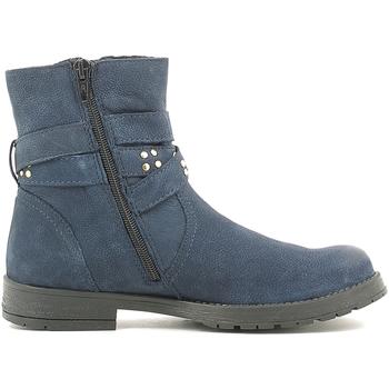 Zapatos Niños Botas de caña baja Holalà HL120008L Azul