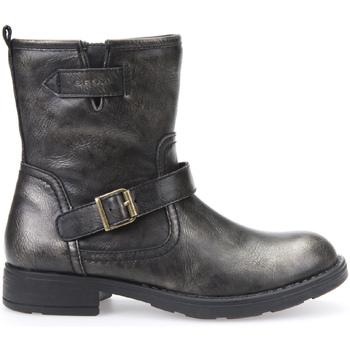Zapatos Niños Botas de caña baja Geox J54D3K 000PT Gris