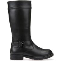 Zapatos Niños Botas urbanas Geox J64A2A 00043 Negro