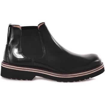 Zapatos Hombre Botas de caña baja Soldini 20358 D Negro