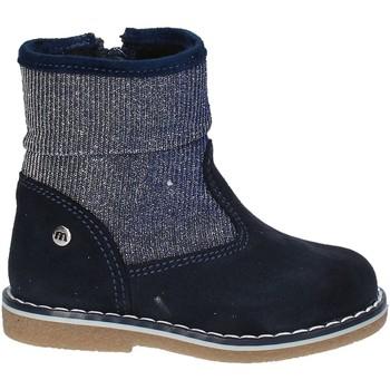 Zapatos Niños Botas de caña baja Melania ME1094B7I.B Azul