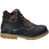 Zapatos Niños Botas de caña baja Wrangler WJ17210 Azul