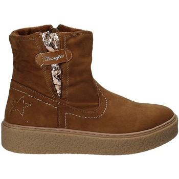 Zapatos Niños Botas de caña baja Wrangler WG17235 Marrón