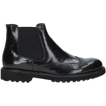 Zapatos Hombre Botas de caña baja Exton 498 Negro