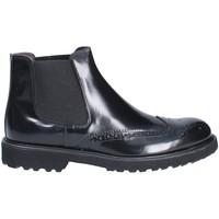 Zapatos Hombre Botas de caña baja Exton 5357 Negro