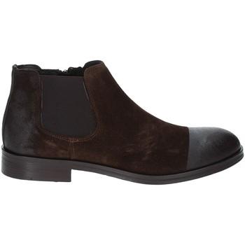 Zapatos Hombre Botas de caña baja Exton 5357 Marrón