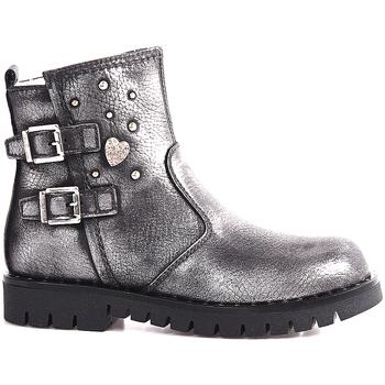 Zapatos Niños Botas de caña baja NeroGiardini A830762F Gris