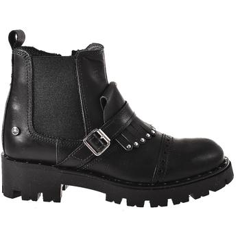Zapatos Niños Botas de caña baja Melania ME6621F8I.A Negro