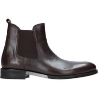 Zapatos Hombre Botas de caña baja Guess FM8BOW LEA10 Marrón