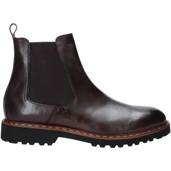 Zapatos Hombre Botas de caña baja Exton 9059 Marrón