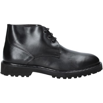 Zapatos Hombre Botas de caña baja Exton 9058 Negro
