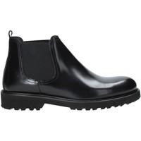 Zapatos Hombre Botas de caña baja Exton 465 Negro