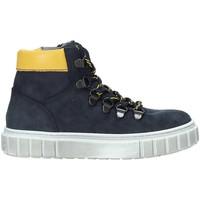 Zapatos Niños Botas de caña baja NeroGiardini A933721M Azul