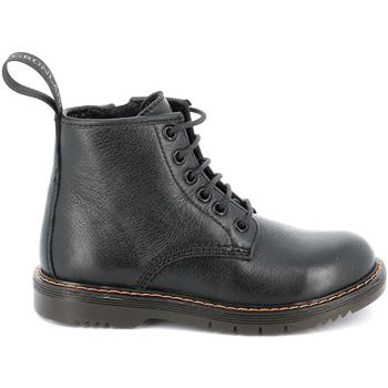 Zapatos Niños Botas de caña baja Grunland PO1177 Negro