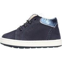 Zapatos Niña Zapatillas altas Balducci - Polacchino blu CITA 4304 BLU