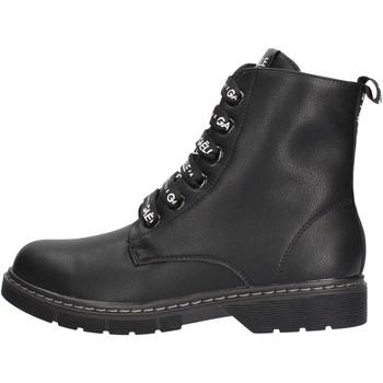 Zapatos Niña Botas de caña baja GaËlle Paris - Anfibio nero G-450 NERO