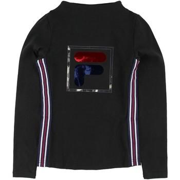 textil Niña Camisetas manga larga Fila - T-shirt nero 688111-002 NERO